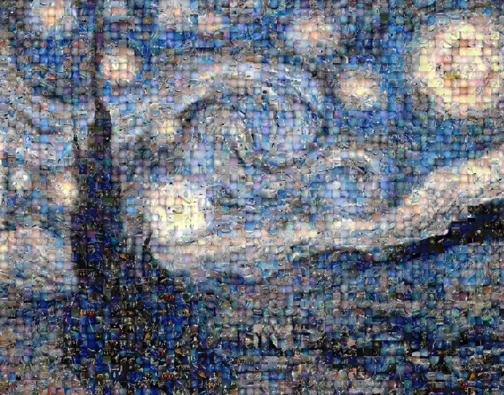Image of Starry Night Mosaic
