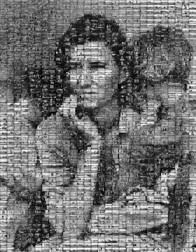 Image of Migrant Mother Mosaic